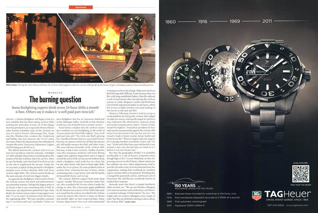 Article Preview: The burning question, January 2011 | Maclean's