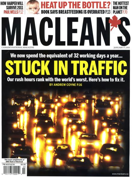 Issue: - January 2011 | Maclean's