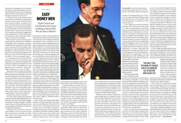 Article Preview: EASY MONEY MEN, January 17th 2011 | Maclean's