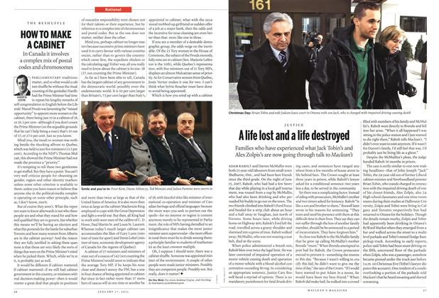 Article Preview: A life lost and a life destroyed, January 2011 | Maclean's