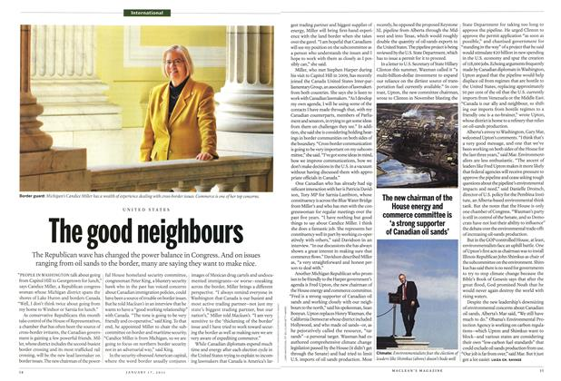 Article Preview: The good neighbours, January 17th 2011 | Maclean's