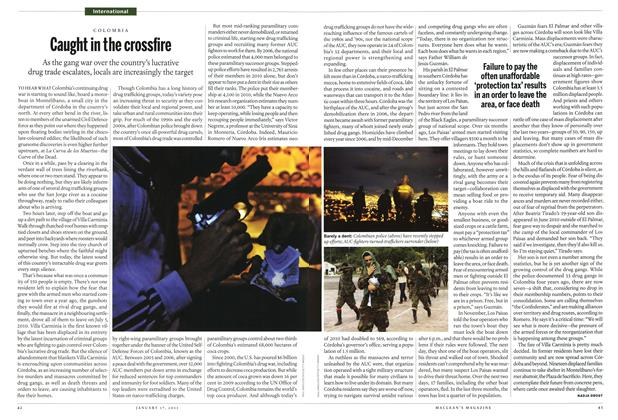 Article Preview: Caught in the crossfire, January 17th 2011 | Maclean's