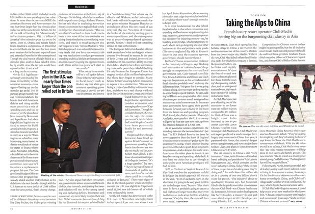 Article Preview: Taking the Alps to China, January 17th 2011 | Maclean's