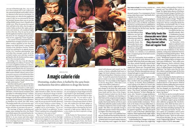 Article Preview: A magic calorie ride, January 17th 2011 | Maclean's
