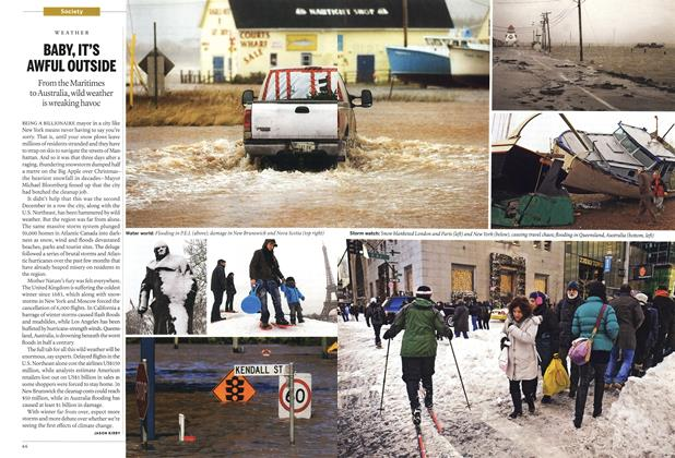 Article Preview: BABY, IT'S AWFUL OUTSIDE, January 17th 2011 | Maclean's