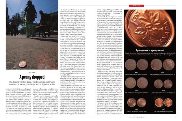 Article Preview: A penny dropped, JANUARY 24th 2011 | Maclean's