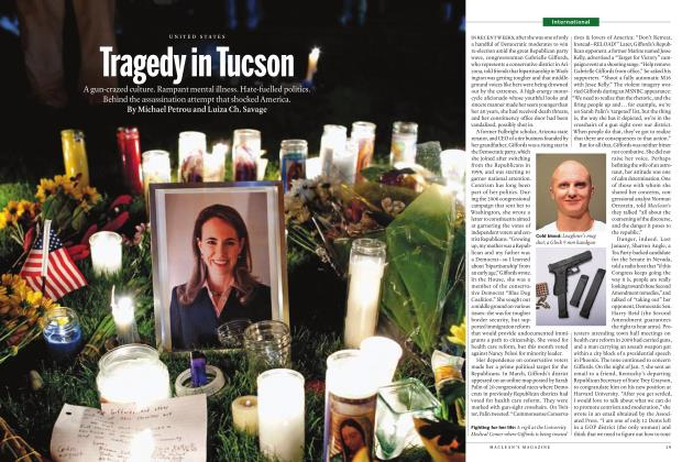 Article Preview: Tragedy in Tucson, JANUARY 24th 2011 | Maclean's