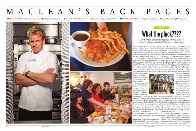 Article Preview: What the pluck????, JANUARY 24th 2011 | Maclean's