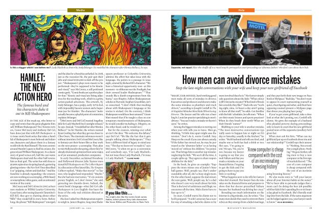 Article Preview: How men can avoid divorce mistakes, JANUARY 24th 2011 | Maclean's