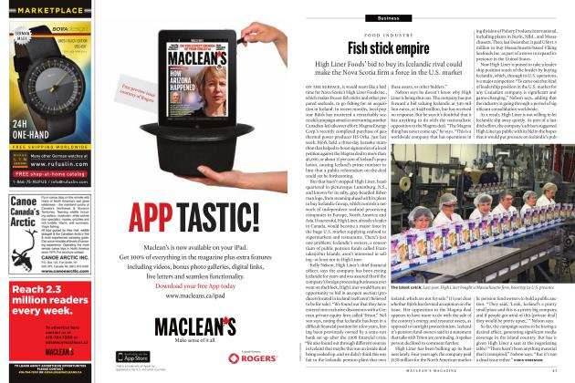 Article Preview: Fish stick empire, JANUARY 31st 2011 | Maclean's