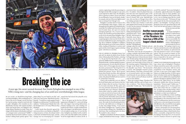 Article Preview: Breaking the ice, JANUARY 31, 2011 2011 | Maclean's