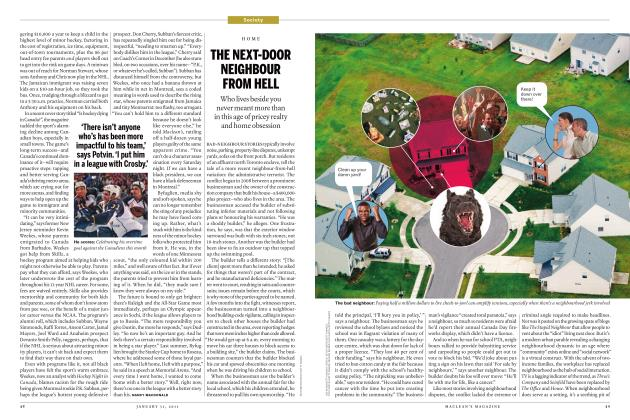 Article Preview: THE NEXT-DOOR NEIGHBOUR FROM HELL, JANUARY 31st 2011 | Maclean's