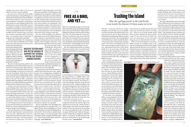 Article Preview: FREE AS A BIRD, AND YET..., JANUARY 31st 2011 | Maclean's