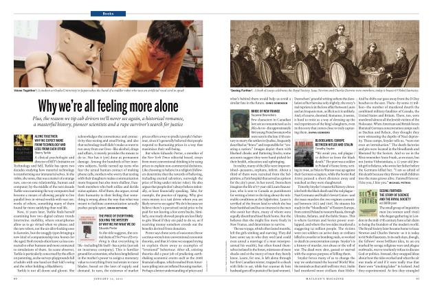 Article Preview: Why we're all feeling more alone, JANUARY 31st 2011 | Maclean's