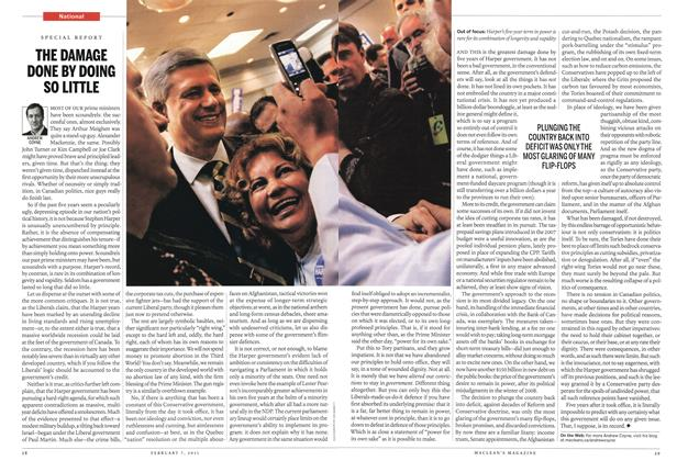 Article Preview: THE DAMAGE DONE BY DOING SO LITTLE, February 2011 | Maclean's