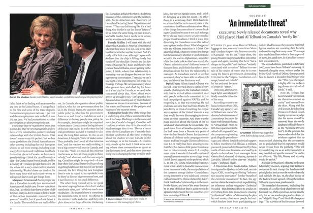 Article Preview: 'An immediate threat', February 2011 | Maclean's