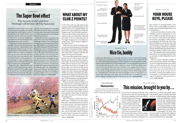 Article Preview: Nice tie, buddy, February 2011 | Maclean's