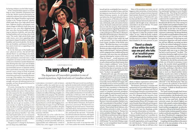 Article Preview: The very short goodbye, February 2011   Maclean's