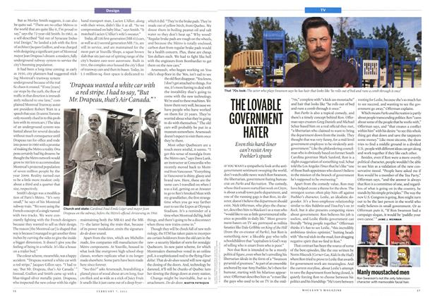 Article Preview: THE LOVABLE GOVERNMENT HATER, February 2011 | Maclean's