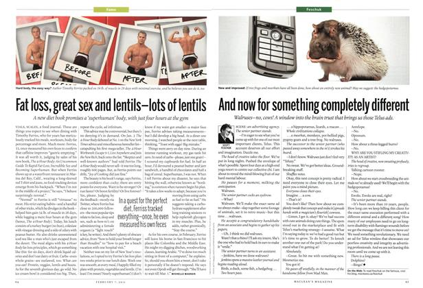 Article Preview: Fat loss, great sex and lentils—lots of lentils, February 2011 | Maclean's