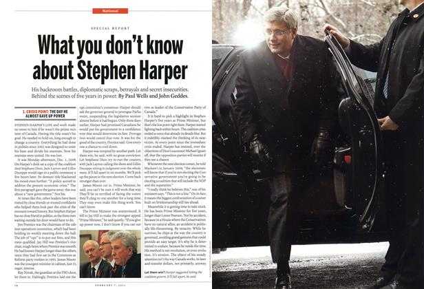 Article Preview: What you don't know about Stephen Harper, February 2011 | Maclean's
