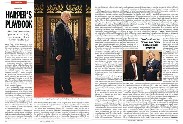 Article Preview: HARPER'S PLAYBOOK, February 2011 | Maclean's