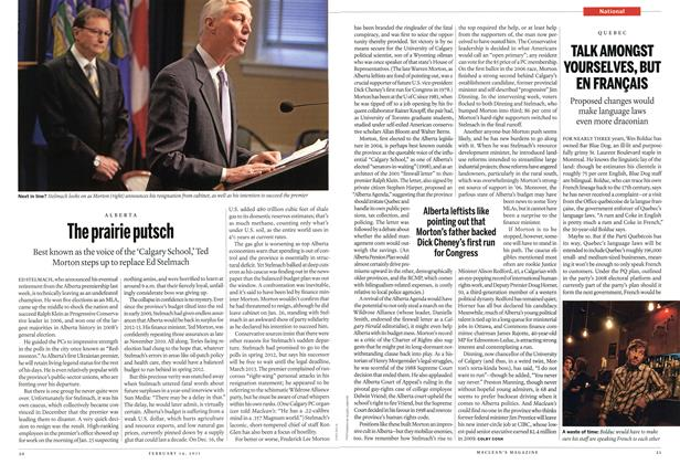 Article Preview: TALK AMONGST YOURSELVES, BUT EN FRANÇAIS, February 2011 | Maclean's