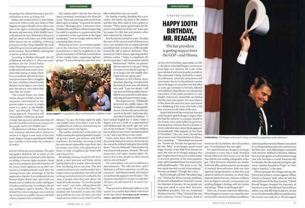 Article Preview: HAPPY 100TH BIRTHDAY, MR. REAGAN!, February 2011 | Maclean's