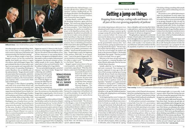 Article Preview: Getting a jump on things, February 2011 | Maclean's
