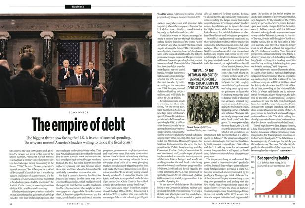Article Preview: The empire of debt, February 2011 | Maclean's