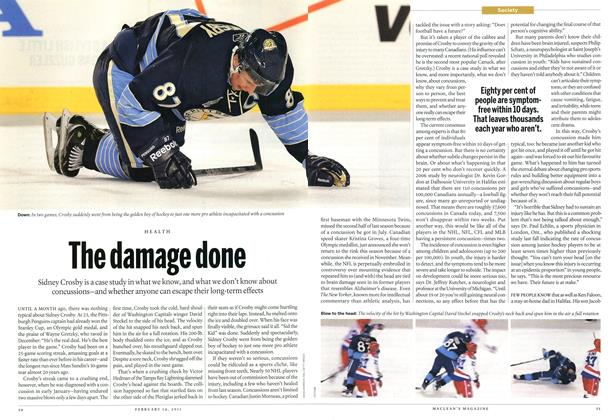 Article Preview: The damage done, February 2011 | Maclean's