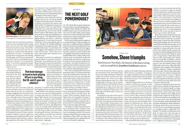 Article Preview: Somehow, Sheen triumphs, February 2011 | Maclean's