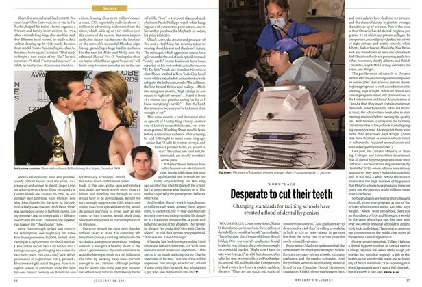 Article Preview: Desperate to cut their teeth, February 2011 | Maclean's