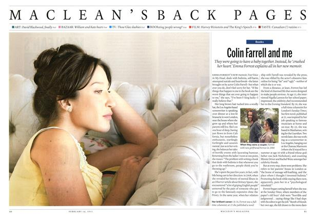 Article Preview: Colin Farrell and me, February 2011 | Maclean's