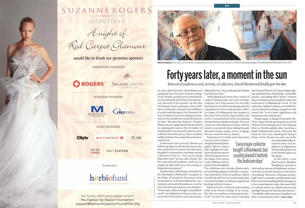 Article Preview: Forty years later, a moment in the sun, February 2011 | Maclean's