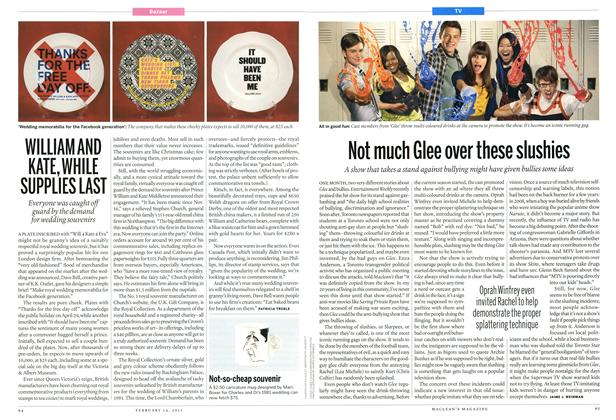 Article Preview: Not much Glee over these slushies, February 2011 | Maclean's