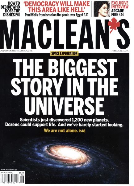 Issue: - February 2011 | Maclean's