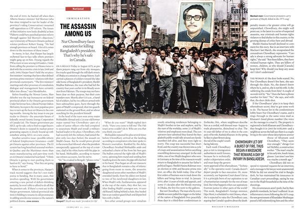 Article Preview: THE ASSASSIN AMONG US, February 2011 | Maclean's