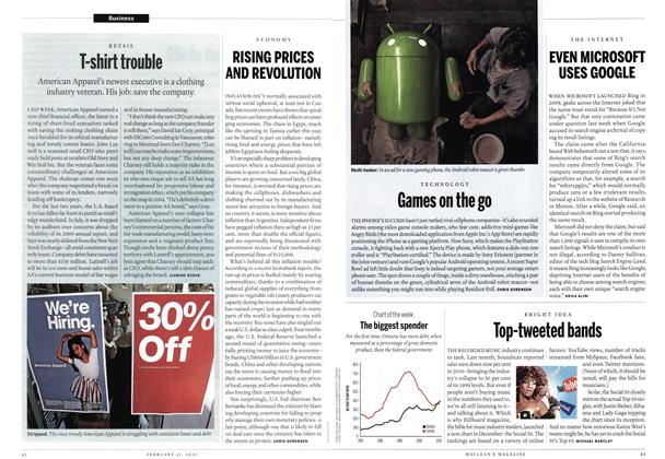 Article Preview: Games on the go, February 2011 | Maclean's