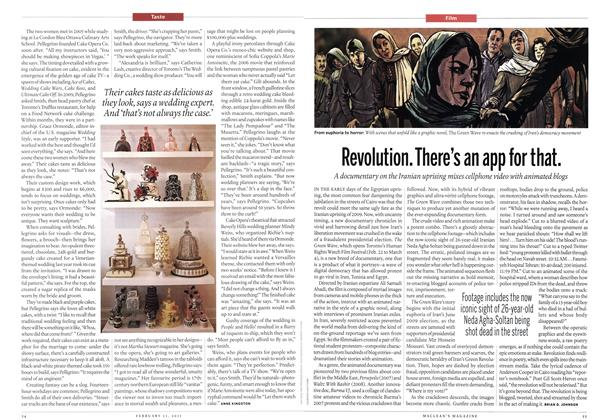 Article Preview: Revolution. There's an app for that., February 2011 | Maclean's
