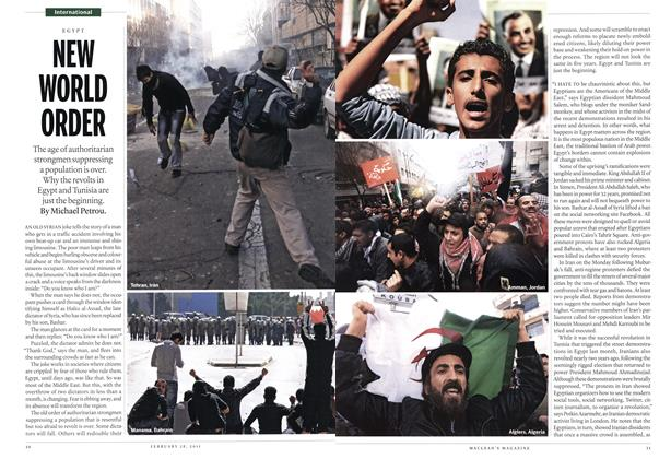 Article Preview: NEW WORLD ORDER, February 2011 | Maclean's