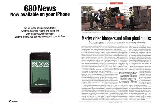 Article Preview: Martyr video bloopers and other jihad hijinks, February 2011 | Maclean's