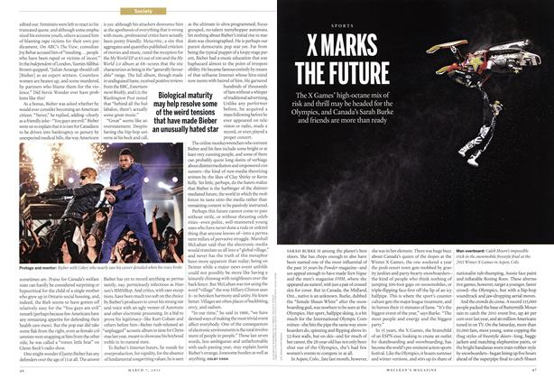 Article Preview: X MARKS THE FUTURE, MARCH 7,2011 2011 | Maclean's