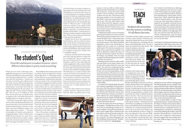 Article Preview: The student's Quest, MARCH 7,2011 2011 | Maclean's