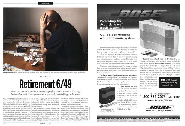 Article Preview: Retirement 6/49, March 2011 | Maclean's