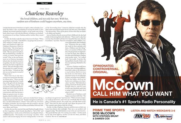 Article Preview: 1980-2011 Charlene Reaveley, March 2011 | Maclean's