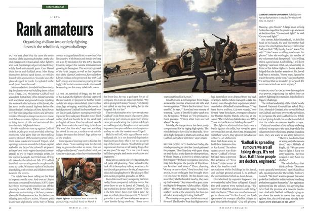 Article Preview: Rank amateurs, March 2011 | Maclean's