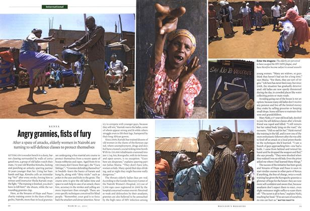 Article Preview: Angry grannies, fists of fury, March 2011 | Maclean's