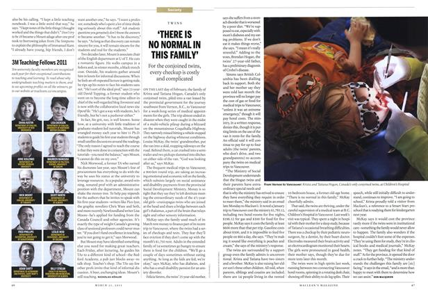 Article Preview: 'THERE IS NO NORMAL IN THIS FAMILY', March 2011 | Maclean's