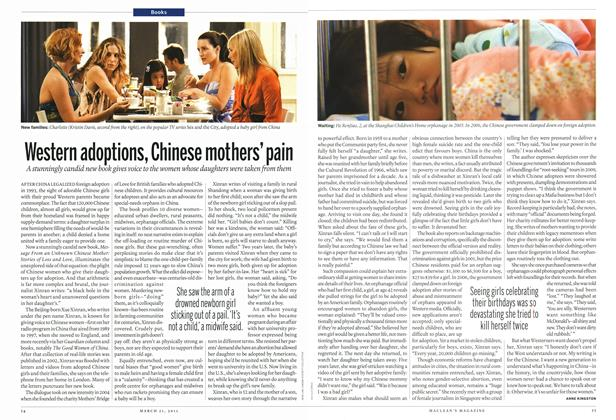Article Preview: Western adoptions, Chinese mothers' pain, March 2011 | Maclean's